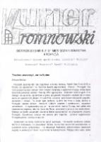 Kurier Kromnowski. Miesięcznik Sołectwa Kromnów, 2016, nr 8 (113)