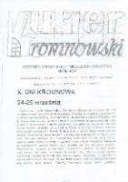 Kurier Kromnowski. Miesięcznik Sołectwa Kromnów, 2016, nr 9 (114)