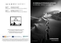 XX Biennale Fotografii Górskiej = XX. Bienále Horské Fotografie - zaproszenie = pozvánka [Dokument życia społecznego]