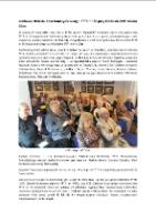 Jubileusz 60-lecia Koła Nauczycielskiego PTTK nr 30 przy Oddziale ZNP JeleniaGóra [Dokument elektroniczny]