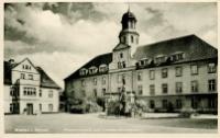 Wohlau i. Schles. Piastenschloss und Kreiswohlfahrtsamt [Dokument ikonograficzny]