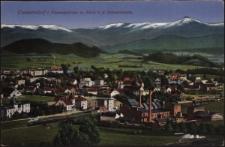 Cunnersdorf i. Riesengebirge m. Blick n. d. Schneekoppe [Dokument ikonograficzny]