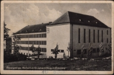Riesengebirge, Hochschule für Lehrerbildung In Hirschberg [Dokument ikonograficzny]