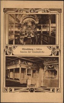 Hirschberg i. Schles. Inneres der Gnadenkirche [Dokument ikonograficzny]