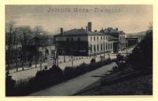 Hirschberg i. Schl. Der Bahnhof [Dokument ikonograficzny]