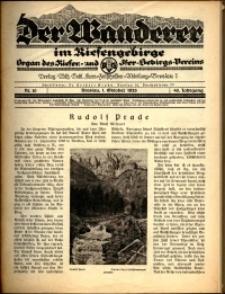 Der Wanderer im Riesengebirge, 1926, nr 10