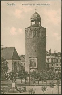 Goerlitz. Frauenturm mit Demianidenkmal [Dokument ikonograficzny]