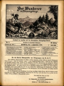 Der Wanderer im Riesengebirge, 1912, nr 11