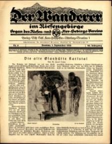 Der Wanderer im Riesengebirge, 1928, nr 9