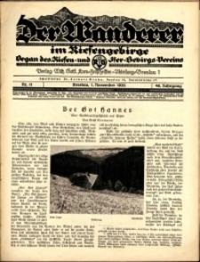Der Wanderer im Riesengebirge, 1928, nr 11