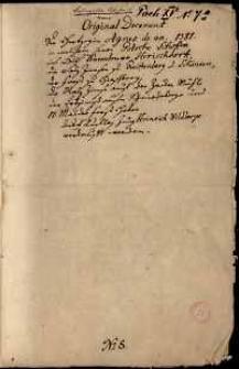 Dokument Agnieszki, księżnej Śląska i pani na Książu i Świdnicy, stwierdzający, że Gotsche Schoff posiada czynsze z dóbr koło Jeleniej Góry