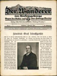 Der Wanderer im Riesengebirge, 1929, nr 2