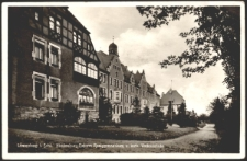 Löwenberg i. Schl. Hindenburg-Reform-Realgymnasium u. kath. Volksschule [Dokument ikonograficzny]