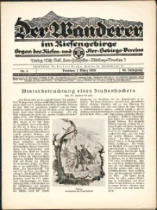 Der Wanderer im Riesengebirge, 1929, nr 3
