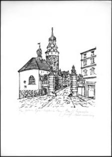 Jelenia Góra - kaplica Św. Anny i Brama Wojanowska [Dokument ikonograficzny]