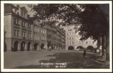 Hirschberg i. Riesengeb. am Markt [Dokument ikonograficzny]