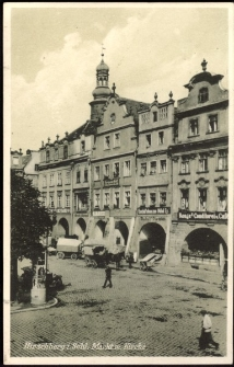 Hirschberg i. Schl. Markt m. Kirche [Dokument ikonograficzny]