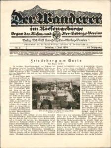 Der Wanderer im Riesengebirge, 1929, nr 6