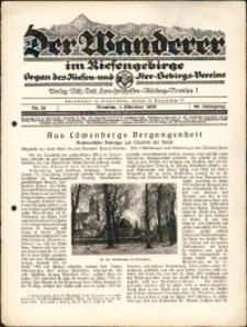 Der Wanderer im Riesengebirge, 1929, nr 10