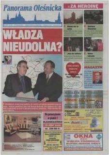 Panorama Oleśnicka: tygodnik Ziemi Oleśnickiej, 2002, nr 3 (668)