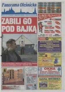 Panorama Oleśnicka: tygodnik Ziemi Oleśnickiej, 2002, nr 13 (678)