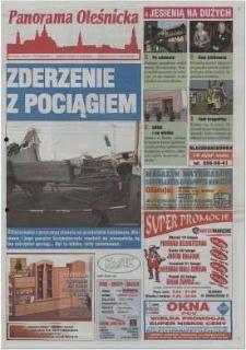 Panorama Oleśnicka: tygodnik Ziemi Oleśnickiej, 2002, nr 14 (679)