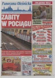 Panorama Oleśnicka: tygodnik Ziemi Oleśnickiej, 2002, nr 31 (696)
