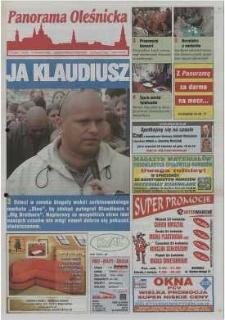 Panorama Oleśnicka: tygodnik Ziemi Oleśnickiej, 2002, nr 32 (697)