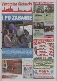 Panorama Oleśnicka: tygodnik Ziemi Oleśnickiej, 2002, nr 36 (701)