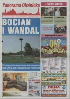 Panorama Oleśnicka: tygodnik Ziemi Oleśnickiej, 2002, nr 38 (703)