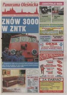 Panorama Oleśnicka: tygodnik Ziemi Oleśnickiej, 2002, nr 42 (707)