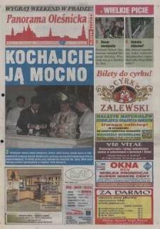 Panorama Oleśnicka: tygodnik Ziemi Oleśnickiej, 2002, nr 46 (711)