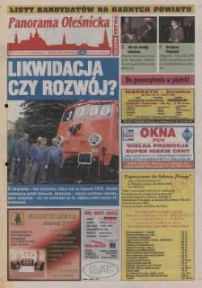 Panorama Oleśnicka: tygodnik Ziemi Oleśnickiej, 2002, nr 80 (745)