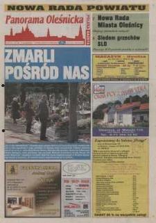 Panorama Oleśnicka: tygodnik Ziemi Oleśnickiej, 2002, nr 88 (753)