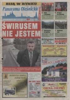Panorama Oleśnicka: tygodnik Ziemi Oleśnickiej, 2002, nr 99 (764)