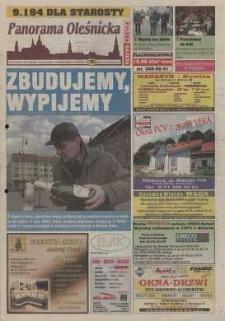 Panorama Oleśnicka: tygodnik Ziemi Oleśnickiej, 2002, nr 103 (768)