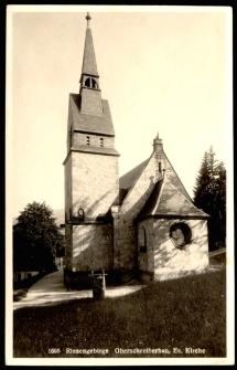 Riesengebirge Oberschreiberhau, Ev. Kirche [Dokument ikonograficzny]