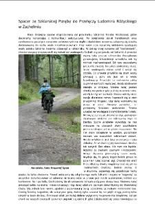 Spacer ze Szklarskiej Poręby do Przełęczy Ludomira Różyckiego w Zachełmiu [Dokument elektroniczny]