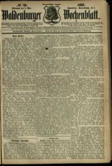 Waldenburger Wochenblatt, Jg. 34, 1888, nr 38