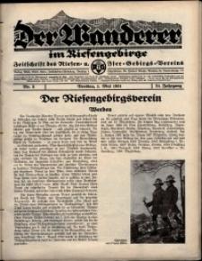 Der Wanderer im Riesengebirge, 1931, nr 5