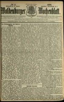 Waldenburger Wochenblatt, Jg. 36, 1890, nr 4