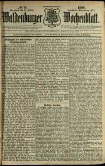 Waldenburger Wochenblatt, Jg. 36, 1890, nr 5