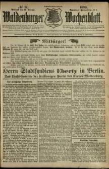 Waldenburger Wochenblatt, Jg. 36, 1890, nr 14