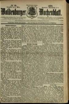 Waldenburger Wochenblatt, Jg. 36, 1890, nr 19