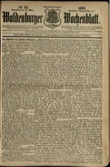 Waldenburger Wochenblatt, Jg. 36, 1890, nr 23