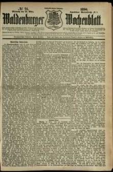 Waldenburger Wochenblatt, Jg. 36, 1890, nr 24