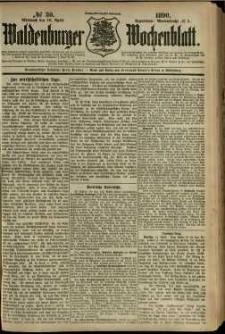 Waldenburger Wochenblatt, Jg. 36, 1890, nr 30