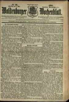 Waldenburger Wochenblatt, Jg. 36, 1890, nr 36
