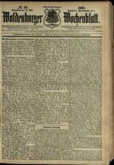 Waldenburger Wochenblatt, Jg. 36, 1890, nr 39
