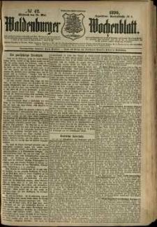 Waldenburger Wochenblatt, Jg. 36, 1890, nr 42